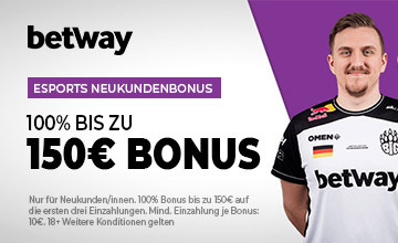 Betway - Hol dir jetzt den Bonus!